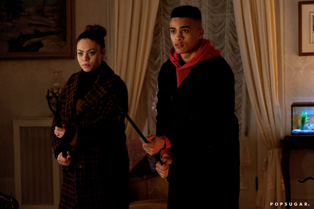 Aurora Burghart and Gabriel Darku on Netflix's October Faction