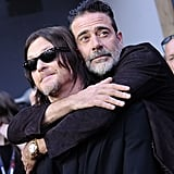 Jeffrey Dean Morgan and Norman Reedus on Red Carpet 2017