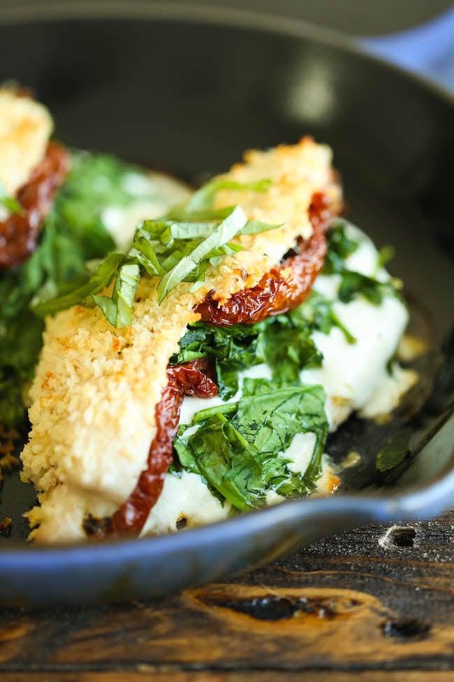 Mozzarella-Stuffed Chicken