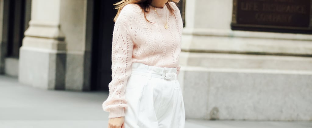 Easy Outfit Idea: How to Wear a Pastel Sweater For Winter