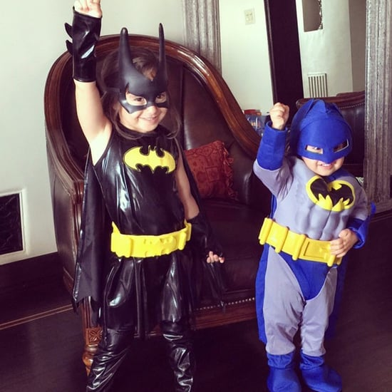 Mario Lopez's Kids Wearing Superhero Costumes Instagram