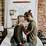 Cozy Engagement Photo Shoot in a Loft