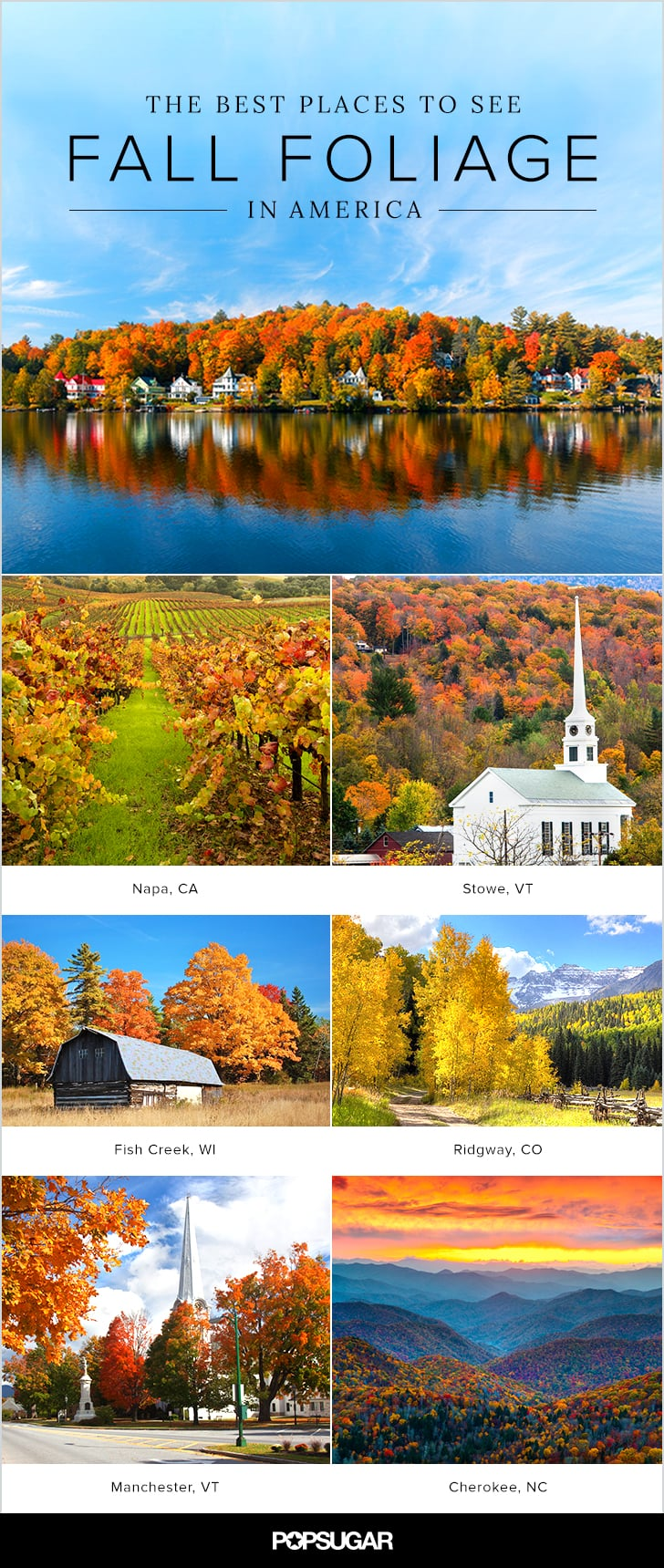 Best Cities to See Fall Leaves