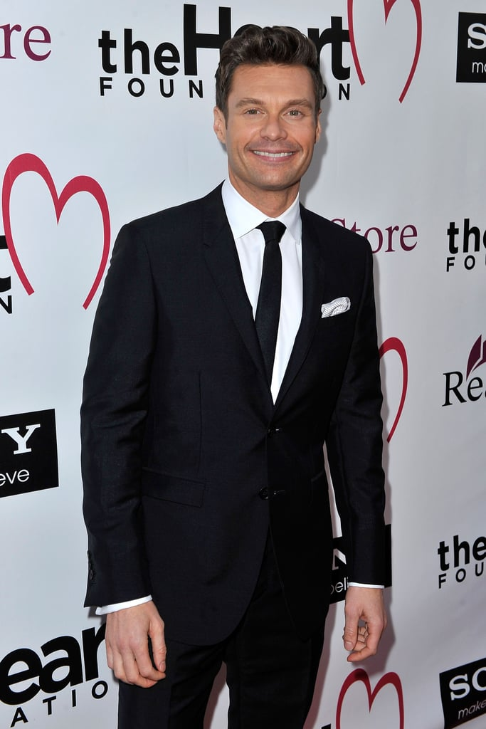 Ryan Seacrest stopped by the event.