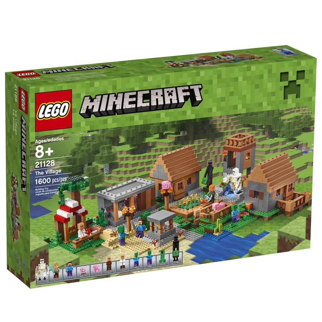 Pictures of Lego Minecraft The Village Set