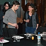 Justin Long chatted with Nia Vardalos.