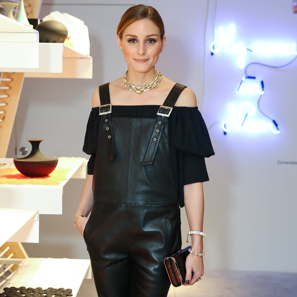 Olivia Palermo Just Gave Dungarees a Supersexy Makeover