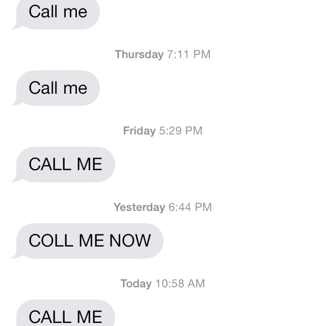 Just Call Her Already!
