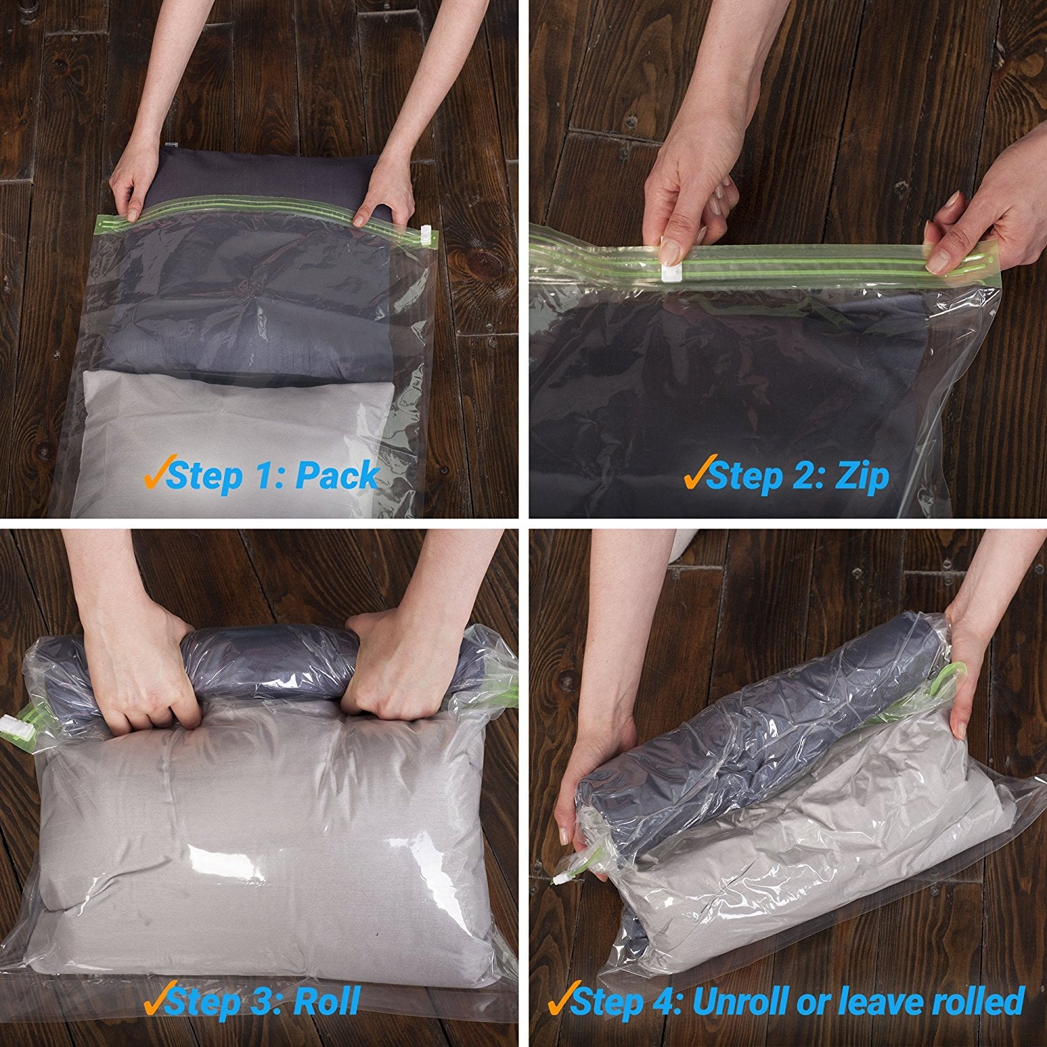 These Insane Space-Saving Bags Are an Overpacker's Dream — and Only $17 on Amazon