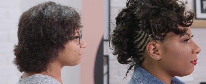 Post-Breakup Hair Transformation