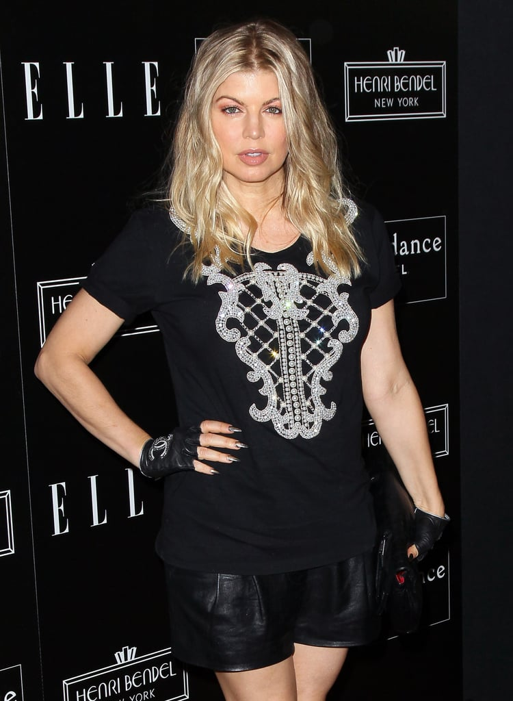 Fergie stepped out for a party in honor of Joe Zee in LA.