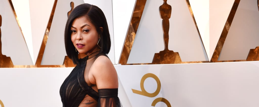 Taraji P. Henson in Vera Wang at Oscars 2018