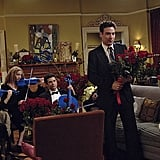 And then the presentation! Tell me Ted isn't the biggest romantic on TV.