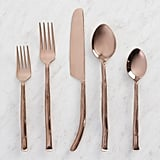 Rose Gold Twig Flatware Collection