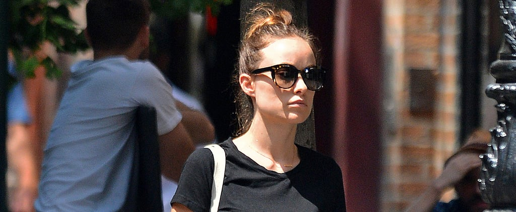 Olivia Wilde and Her Growing Baby Bump Go Casual For a Day Out in NYC