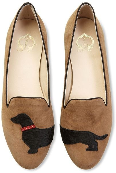 I've been waiting for these puppies to go on sale ever since I first spotted them at a press preview earlier this year. And who can blame me? Dog owner or not, these adorable C. Wonder dachshund slipper loafers ($138) deserve to go for a walk. — Kate Schweitzer, editor
