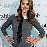 Jessica Alba and Elizabeth Banks Dress Up For a Lucky Event