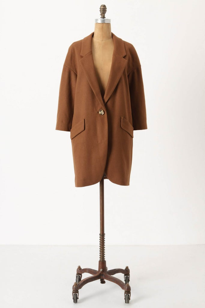 Anthropologie Slouched Overcoat ($198)