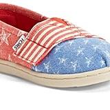 Toms Tiny Stars & Stripes Slip-On Shoe