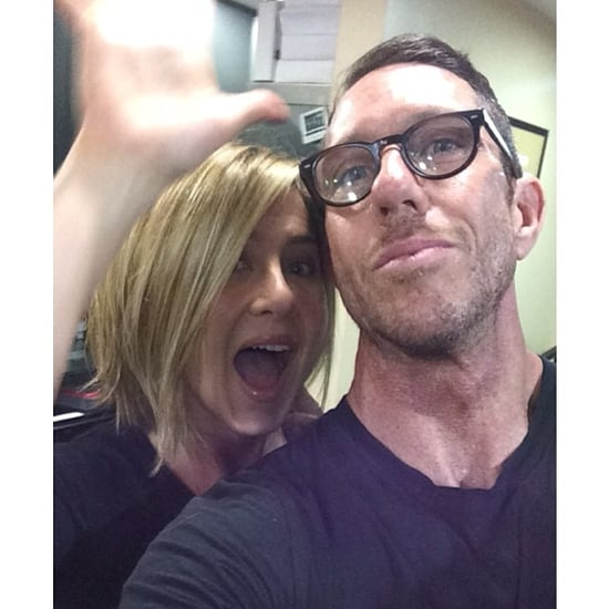 Jennifer Aniston's Bob Haircut on Instagram 2013