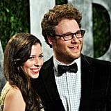 Lauren Miller and Seth Rogen