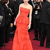Michelce Williams strutted her stuff on the Oscars carpet.