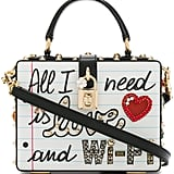 Dolce & Gabbana Graffiti Box Bag