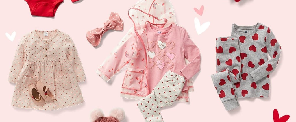 Old Navy Valentine's Day Looks For Babies and Toddlers