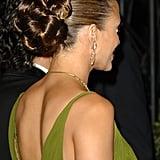 Jennifer Lopez's Woven Updo in 2006