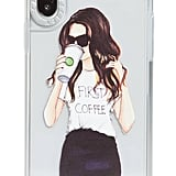 Casetify Coffee First Grip iPhone X/Xs Case