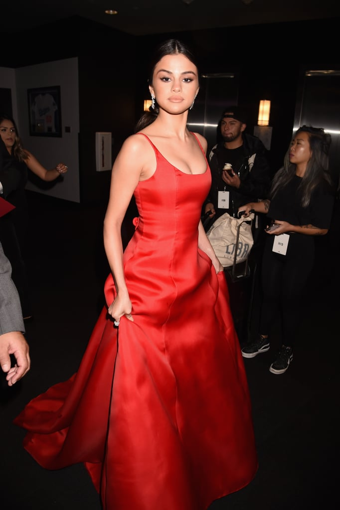 Selena Gomez at the 2016 American Music Awards