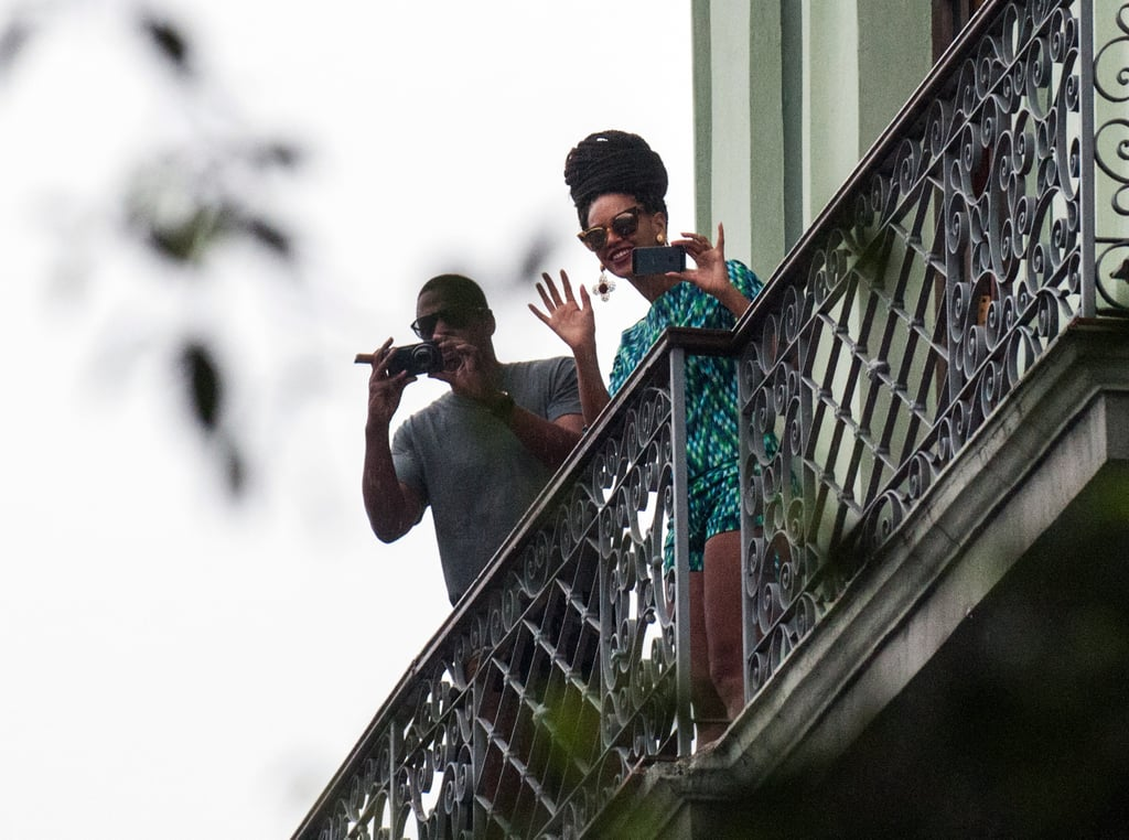 Beyoncé Knowles and Jay-Z continued their vacation in Cuba.