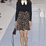 We'd love to see her try out the Peter Pan collar on Chloé's Fall 2017 runway.