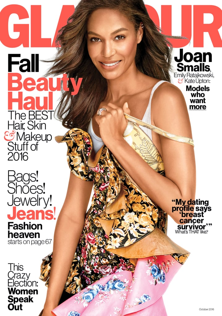 Joan Smalls Glamour Magazine Cover October 2016