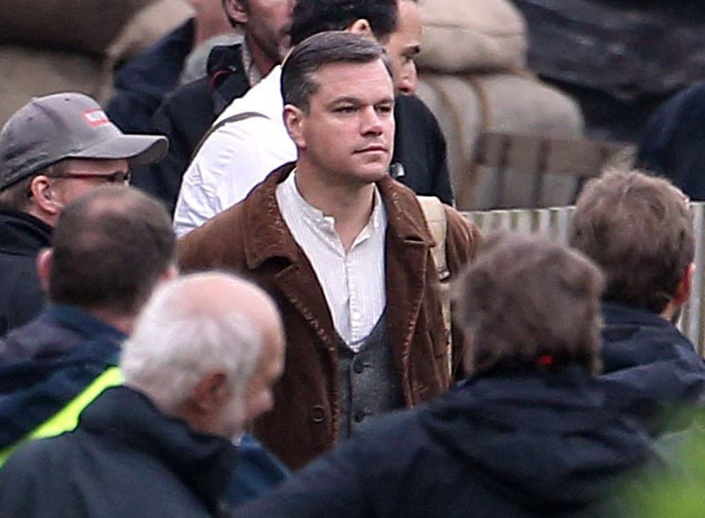 Matt Damon Horses Around With George Clooney and Company