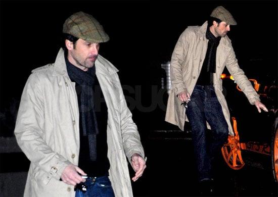 Photos of Patrick Dempsey Getting Into His Car in LA