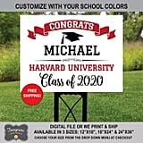 Graduation Lawn Sign