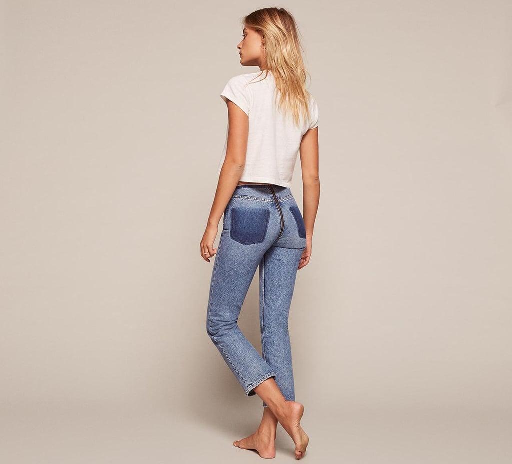 Reformation Zipper Jean ($148)