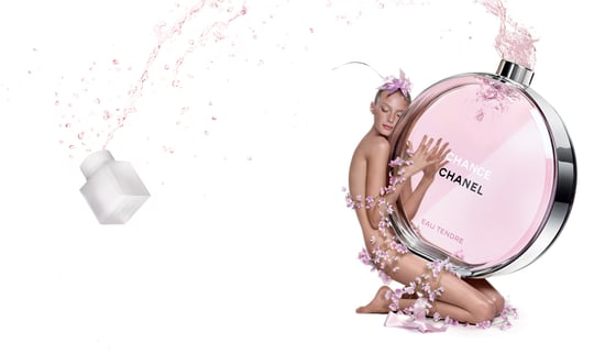 Chanel Chance Eau Tendre Advertisement with Sigrid Agren