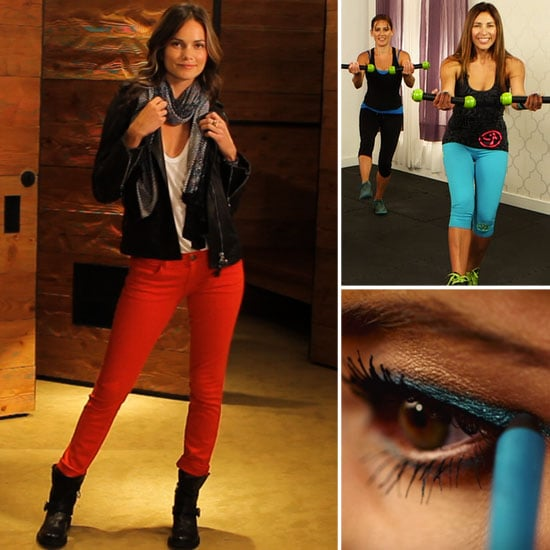 Why Red Jeans Are Right Now & Zumba at Home: The Best of PopSugarTV This Week!