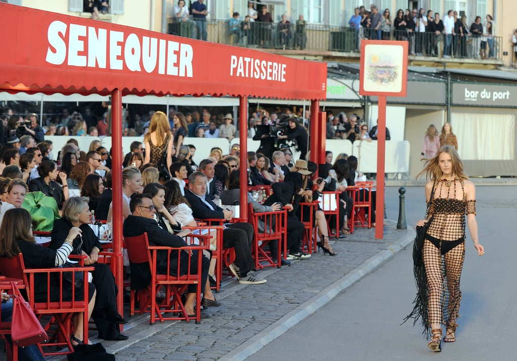 Chanel's Cruise 2011 Show Involved Motorboats, a Motorcycle, and Crystal Renn