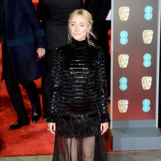 Saoirse Ronan Platform Sandals at the 2018 BAFTA Awards