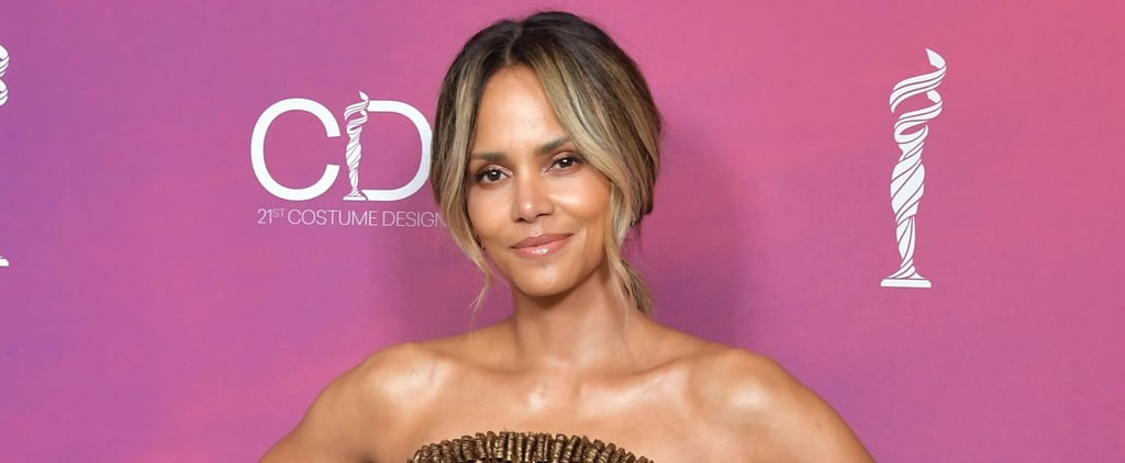 Halle Berry Tire Workout