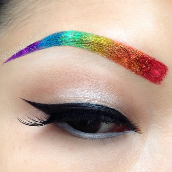 Rainbow Eyebrows