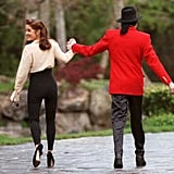 Michael and Lisa Marie Presley Split Their Time Between Neverland and Her LA Estate During Their Brief Marriage.