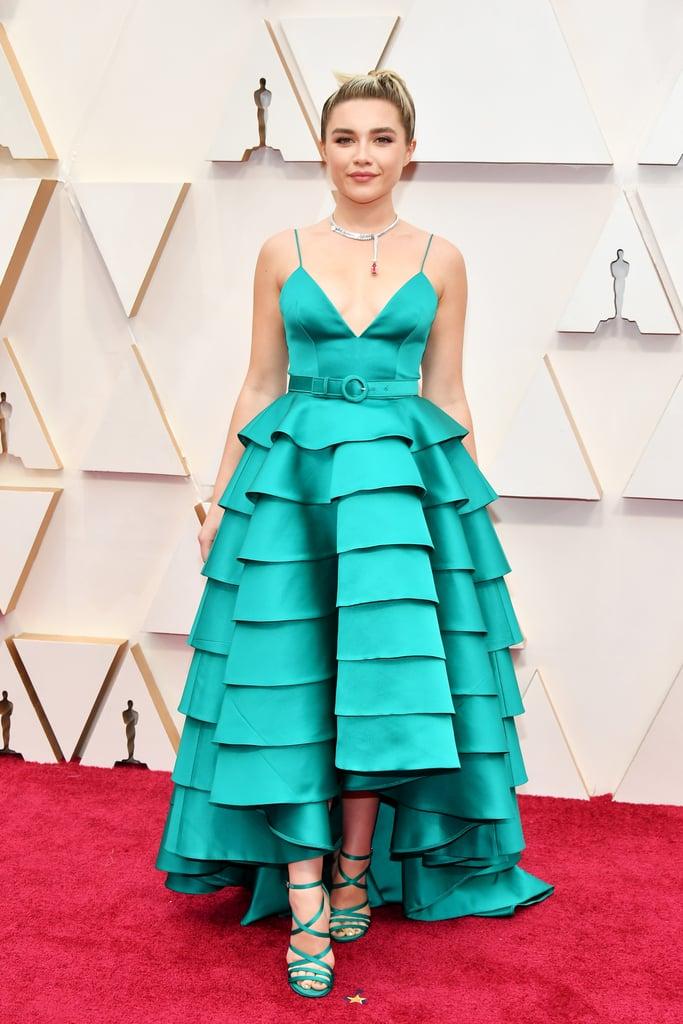 Florence Pugh at the Oscars 2020