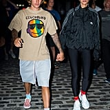 Justin Bieber Hailey Baldwin Matching Shoes and Socks 2018