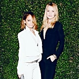 Nicole Richie and Rosie Huntington-Whiteley made a stylish pair at a Chloé event during the week. Source: Instagram user nicolerichie