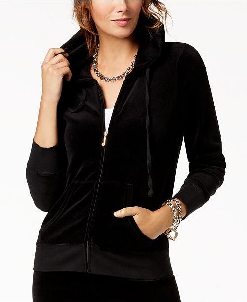 Juicy Couture Robertson Velour Hoodie