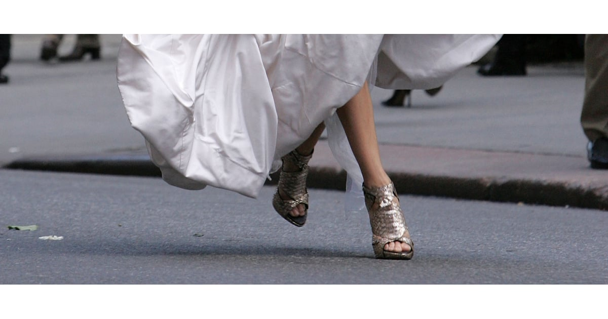 Sarah Jessica Parker's Bridal Shoe Collection